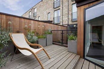 Construire son patio soi-même - Écran d